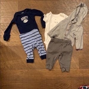 Carters outfits two piece and three piece